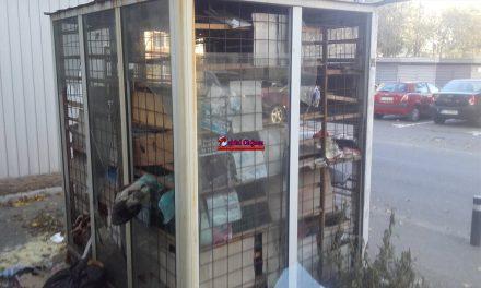 Clujean : Gheretă degradată pe strada Grigore Alexandrescu, nimeni nu o observă FOTO