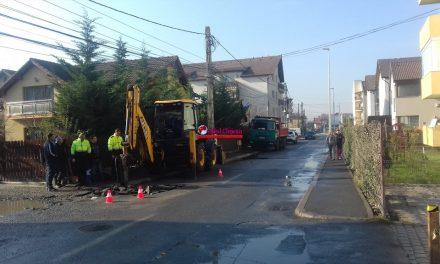 UPDATE:  Intervenții la o conductă pe strada Florilor, și în alte zone. Vezi detalii  FOTO