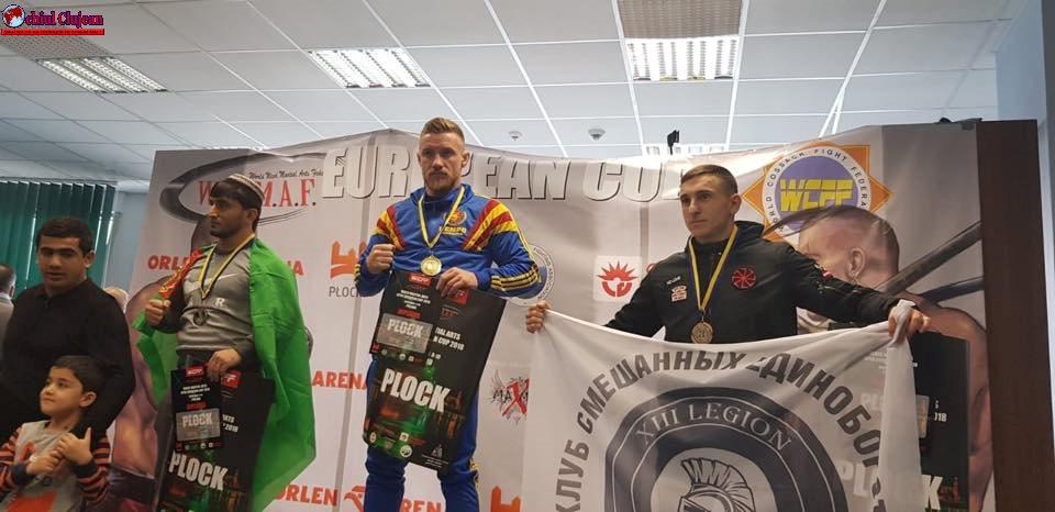 Câstigător din nou! Două medalii de aur pentru Ciprian Mariș FOTO