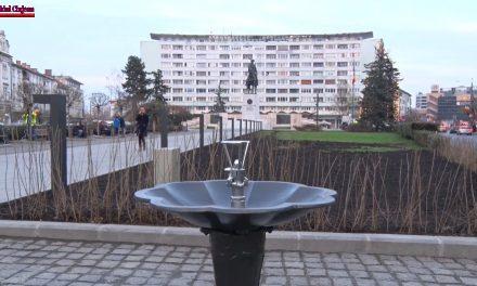 Piața Mihai Viteazul, modernizată și pregatită de Centenar