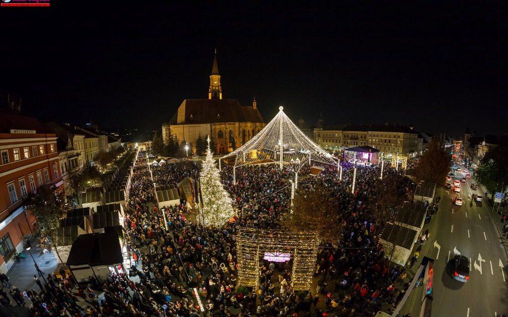 Moş Nicolae vine în Piaţa Unirii, la Târgul de Crăciun