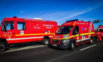 Incident pe autostrada Transilvania, un bărbat a căzut  de pe pod