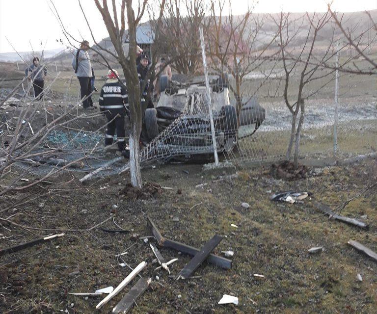 Accident MORTAL la Bonț. Un șofer a adormit la volan FOTO