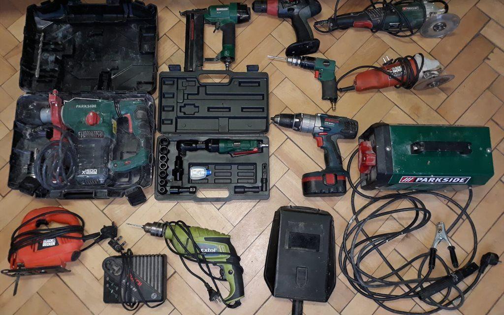 Cluj: Au furat unelte electrice de 6.000 de lei