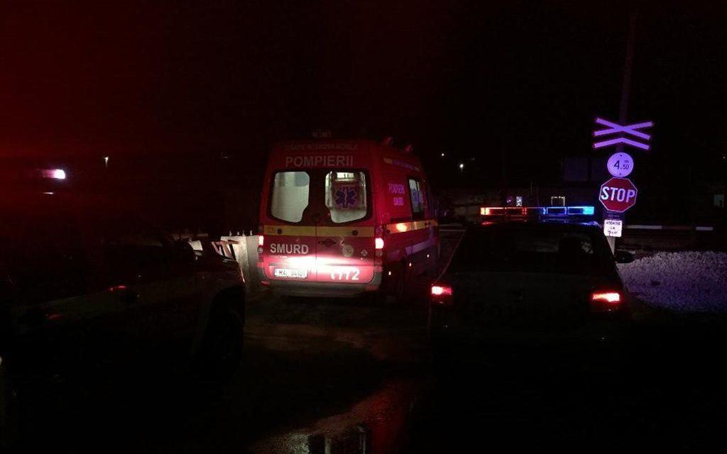 Cluj: Persoană lovită de tren la Apahida FOTO