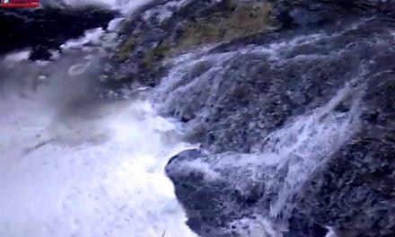 Cluj: Poluare cu borhot pe Valea Racilor din Cheile Turenilor VIDEO