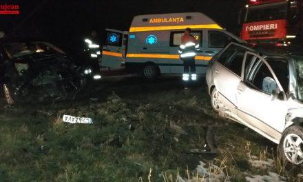Accident cu două victime între Turda și Câmpia Turzii FOTO