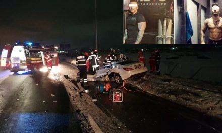 STEFAN TUDOR CÂRJE, tânărul care a provocat cumplitul accident din Florești NU ERA DROGAT