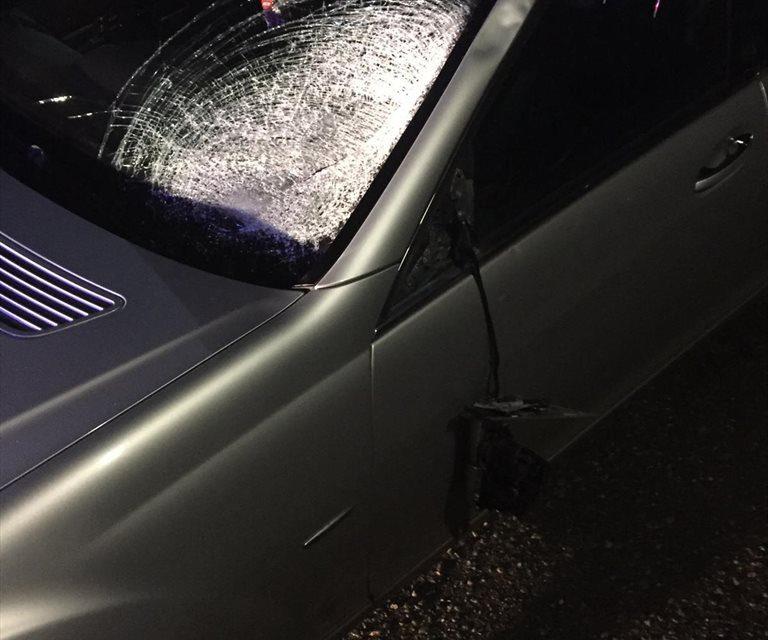 Pieton spulberat de un autoturism în Căianu Vamă FOTO