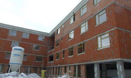 CJ Cluj: Construcția clădirii-internat a Liceului pentru Deficienți de Auz, tot mai aproape de finalizare FOTO
