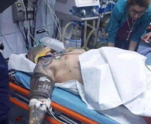 STEFAN TUDOR CÂRJE, tânărul rănit grav în urma accidentului din Florești, are NEVOIE DE SÂNGE