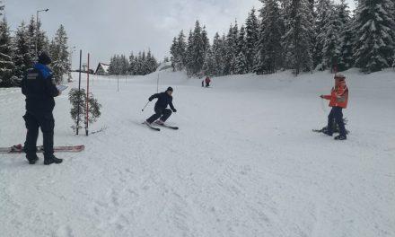 Jandarmii clujeni pe schiuri – Mărişel 2019 FOTO