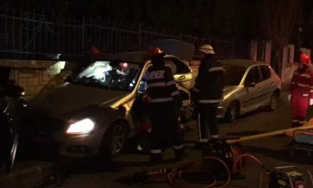 Accident GRAV în Andrei Mureșanu. Mai multe autoturisme implicate FOTO