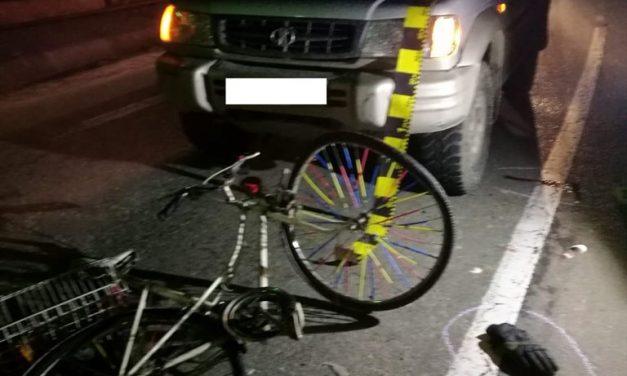 Cluj: Biciclist rănit, în urma unui accident rutier FOTO