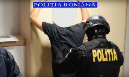 Cluj: Jaf la o sală de jocuri de noroc.  Autorul a fost reținut de polițiști VIDEO