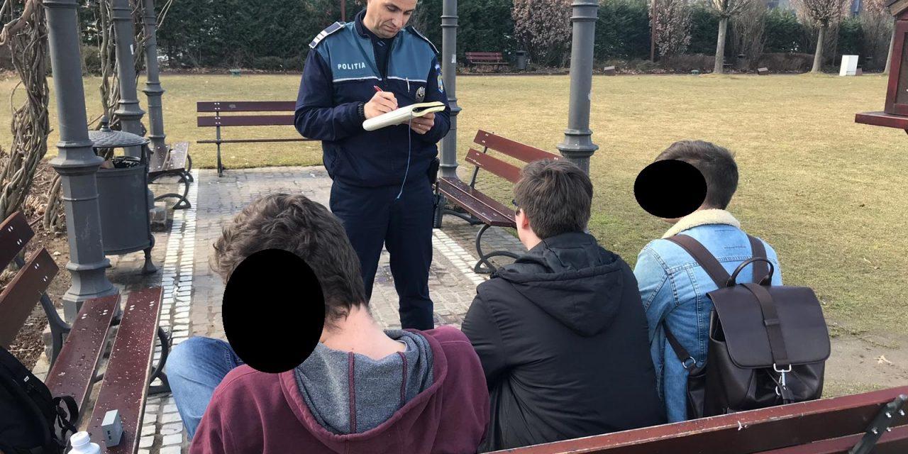 Cluj: Razie pentru combaterea absenteismului școlar