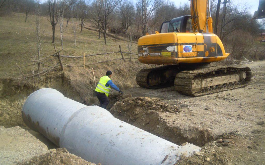 Cluj: Au fost reluate lucrările de reabilitare și modernizare pe drumul judeţean 161C Iclod – Aluniş FOTO