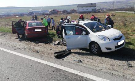 Accident cu cinci victime la Copăceni FOTO