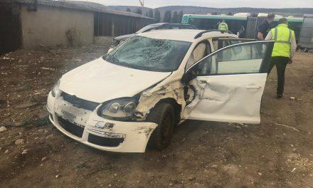 Minor rănit de un autoturism în Florești FOTO