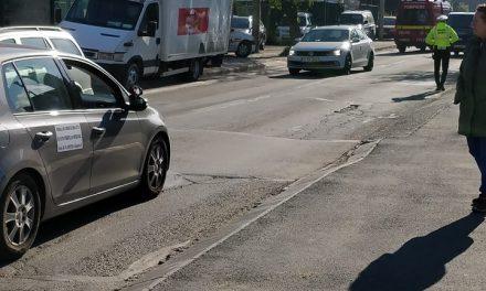 Un bărbat a murit la volan în trafic, la Cluj FOTO
