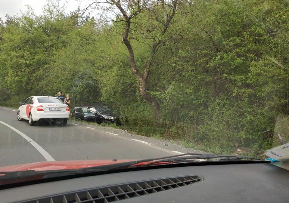Accident la SF. Ion cu trei mașini, produs de un șofer beat FOTO
