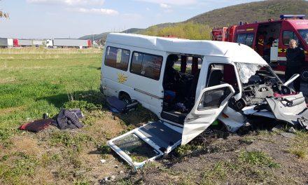 Accident cu 10 victime la Căpusu Mare. S-a activat planul roșu de intervenție VIDEO