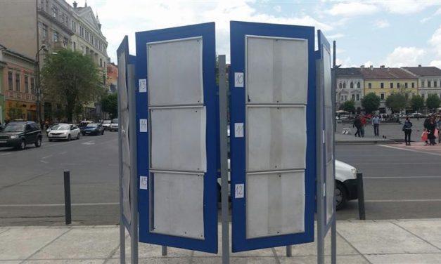 Au fost stabilite locurile speciale pentru afișaj electoral în municipiul Cluj-Napoca