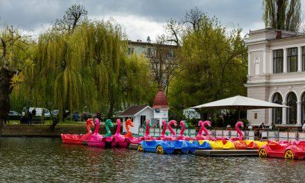 Cluj: Se deschide sezonul de canotaj pe lacurile din Parcul Central și Gheorgheni