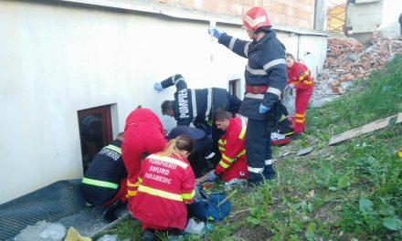 Cluj: Persoană căzută de la înălțime UPDATE FOTO