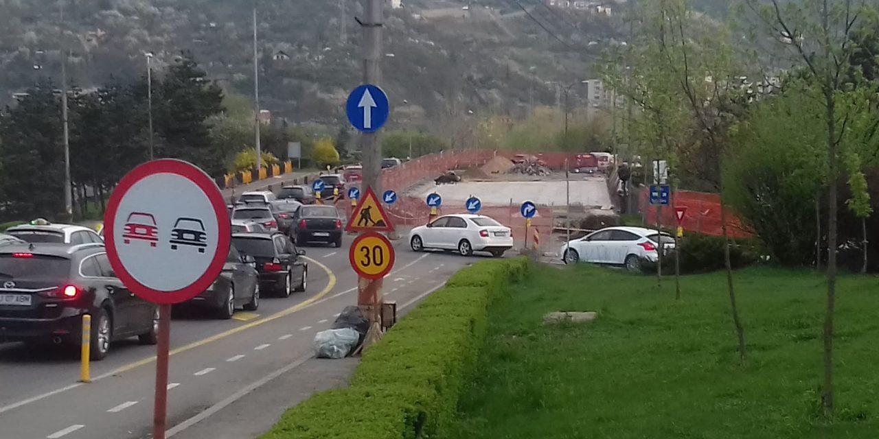 Clujenii vin cu măsuri pentru fluidizarea traficul până la terminarea lucrărilor la podul N