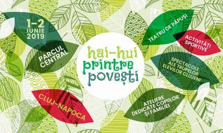 Festival de 1 Iunie în Parcul Central: Hai-Hui printre povești