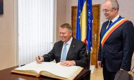Klaus Iohannis în vizită la Cluj-Napoca FOTO