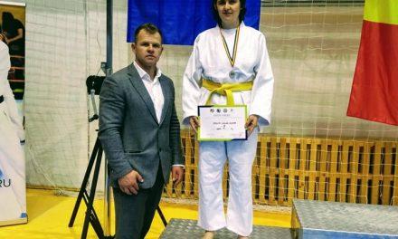 Clujeanca Stroe Laura, a obținut locul 2 Para karate wkf la kata femei nevăzători C4 FOTO