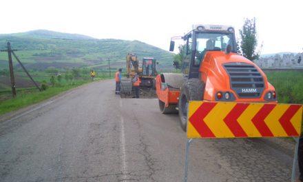 Lucrări de întreținere pe drumul județean Gherla – Fizeșu Gherlii – Țaga – Geaca – DN16 FOTO