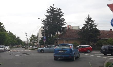Atenție șoferi! Un nou sens giratoriu în Cluj-Napoca