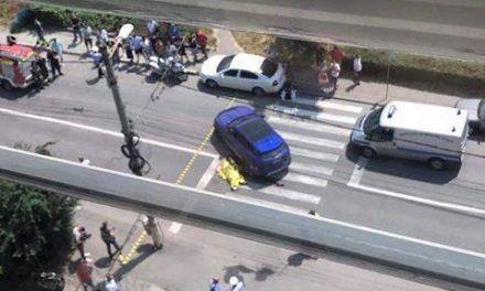 Accidentul MORTAL de pe strada Câmpul Pâinii, surprins de o cameră de supraveghere VIDEO