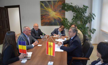 Ambasadorul Spaniei în România, în vizită la Consiliul Județean Cluj FOTO