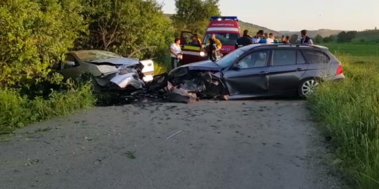 Accident cu 6 victime pe DJ 161 G VIDEO