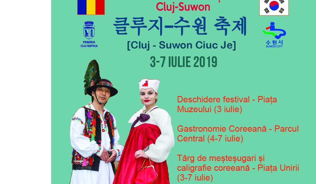 Primul Festival Româno – Coreean celebrează prietenia de 20 de ani dintre Cluj-Napoca și Suwon