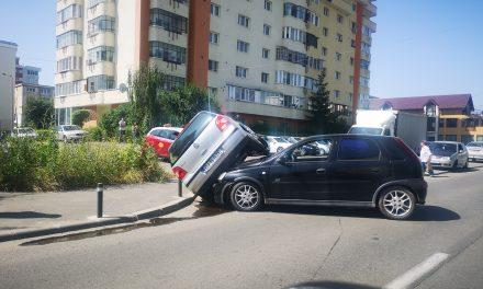 Accident pe strada Dunării FOTO