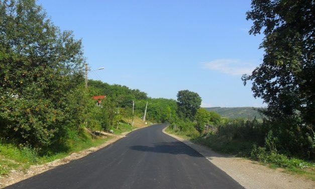 Cluj: Au fost finalizate lucrările de asfaltare pe drumul județean 109C Gherla – Fizeşu Gherlii – Ţaga – Geaca – Cămărașu (DN16)
