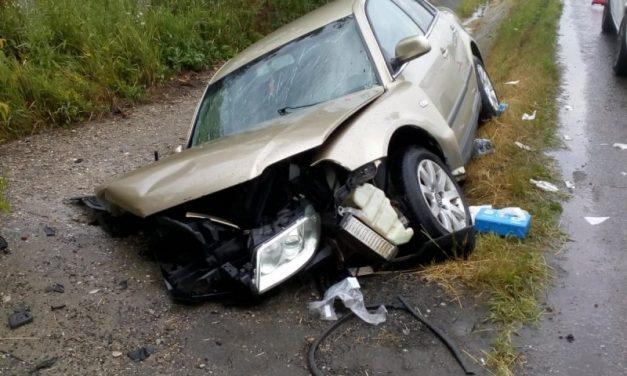 Accident cu trei victime la Nima FOTO