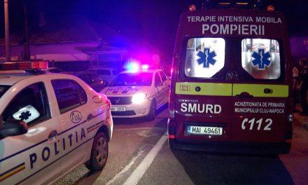 Accident cu două victime  în Gilău