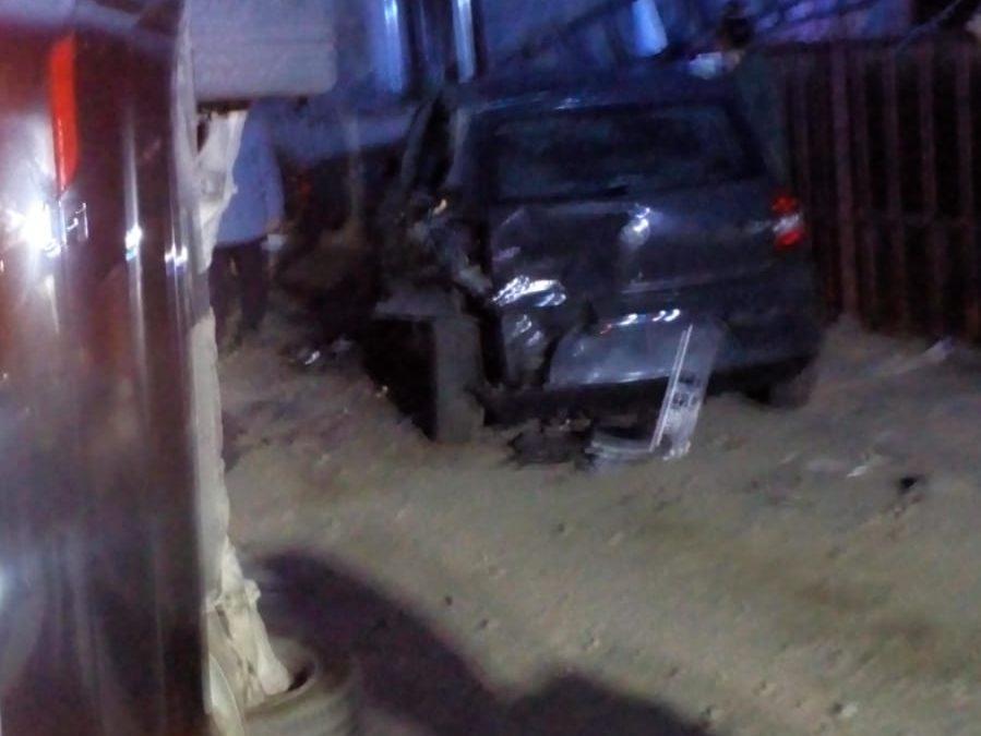 Accident în localitatea Mihai Viteazul FOTO