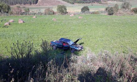 Accident cu trei victime la Țaga FOTO