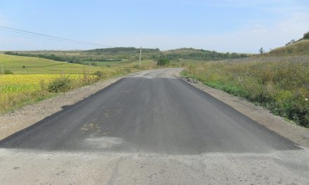 Cluj: Lucrări de întreţinere pe drumul județean 161G Sucutard – Palatca – Vaida Cămăraș
