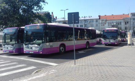 Program special al mijloacelor de transport în comun din Cluj de Sfânta Maria