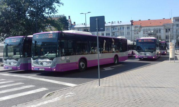 CTP Cluj : Linia 21 revine la traseul de bază