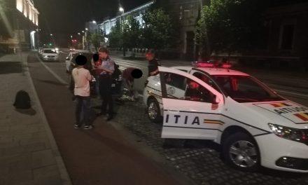 Tânăr prins în flagrant după ce ar fi spart un apartament din Cluj-Napoca
