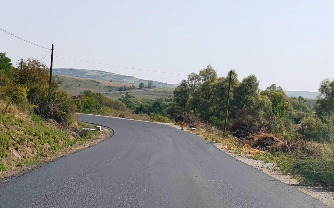 Au fost finalizate lucrările de modernizare pe Drumul Bistriței – DJ 109 Răscruci – Borșa – Vultureni